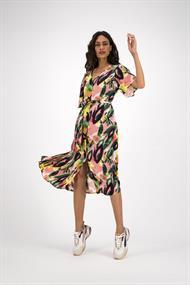 Pom jurk sp6267 in het Roze