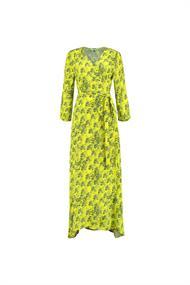 Pom jurk sp6269 in het Geel