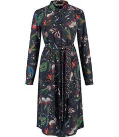 Pom jurk sp6343 in het Donker Blauw