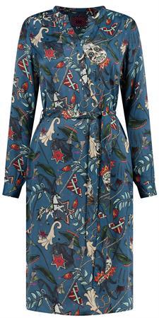Pom jurk sp6345 in het Blauw
