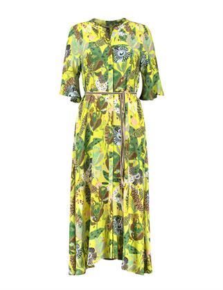 Pom jurk sp6496 in het Licht Geel