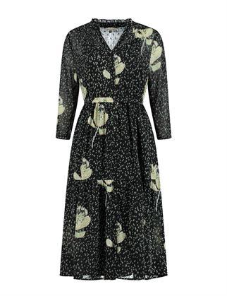Pom jurk sp6504 in het Groen