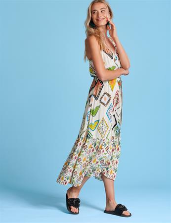 Pom jurk sp6549 in het Multicolor