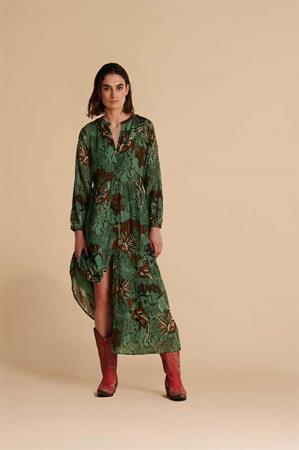 Pom jurk sp6692 in het Licht Groen