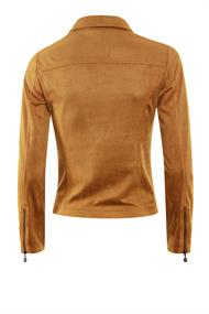 Poools blazer 013144 in het Camel