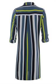 Poools blouse 013124 in het Blauw