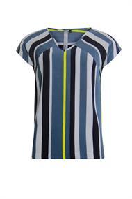 Poools blouse 013130 in het Grijs