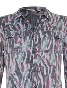 Poools blouse 113170 in het Aqua