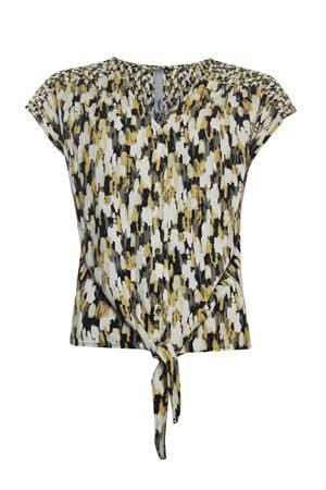 Poools blouse 113183 in het Army
