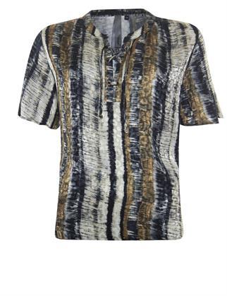 Poools blouse 113184 in het Multicolor
