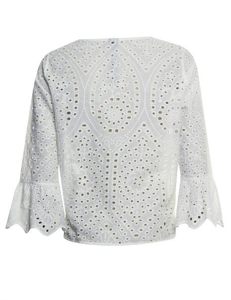 Poools blouse 113250 in het Grijs