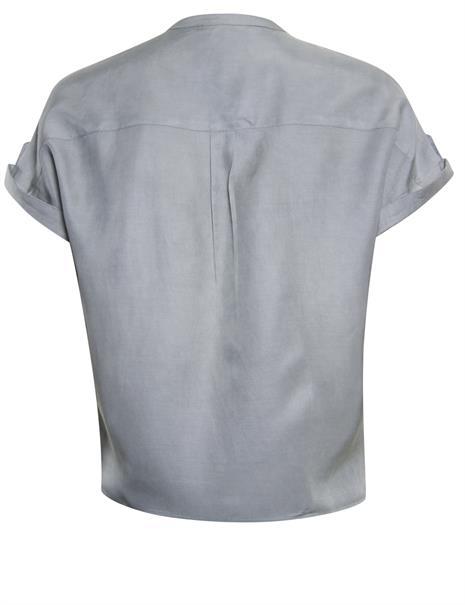 Poools blouse 113253 in het Grijs