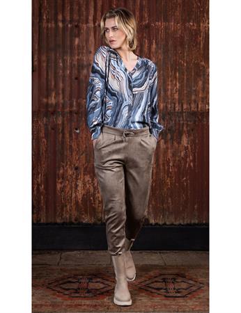 Poools blouse 133159 in het Multicolor