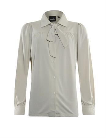 Poools blouse 133208 in het Grijs