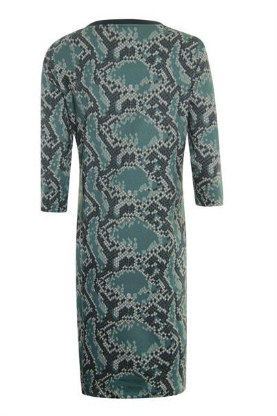Poools jurk 013145 in het Aqua