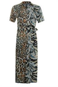Poools jurk 013183 in het Multicolor