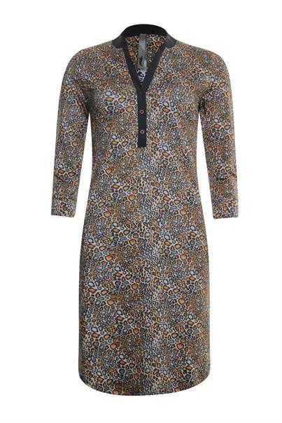 Poools jurk 013243 in het Multicolor