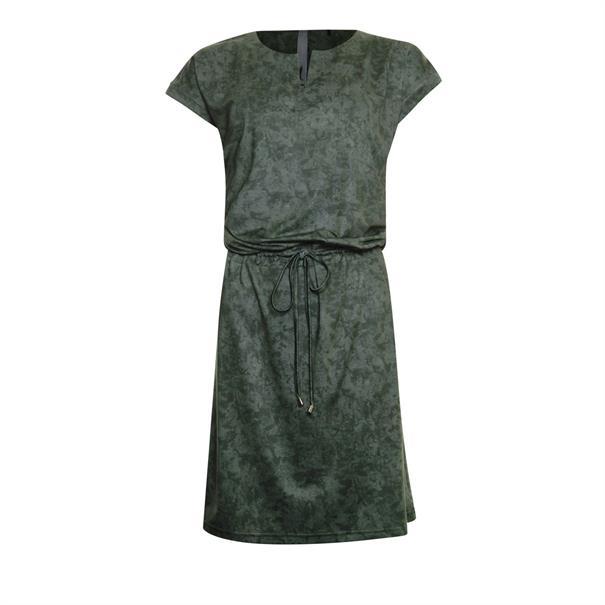 Poools jurk 023113 in het Kaky