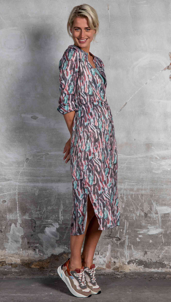 Poools jurk 113158 in het Aqua
