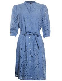 Poools jurk 113249 in het Donker Blauw