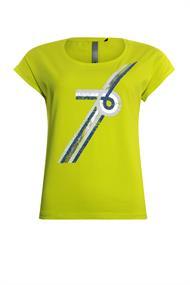 Poools t-shirts 013118 in het Geel