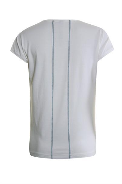Poools t-shirts 013137 in het Wit