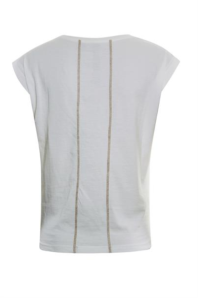 Poools t-shirts 013189 in het Offwhite