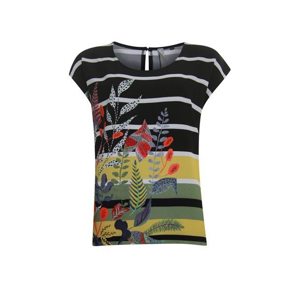 Poools t-shirts 023120 in het Zwart