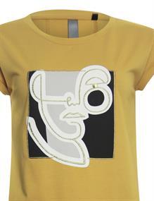 Poools t-shirts 113194 in het Oker