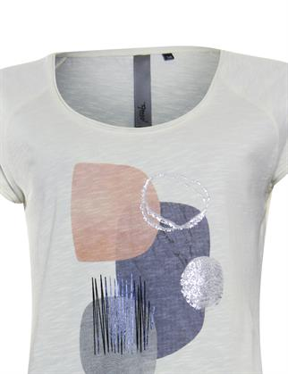 Poools t-shirts 113233 in het Grijs