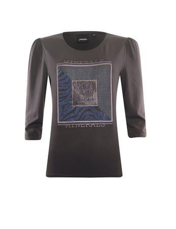 Poools t-shirts 133183 in het Bruin