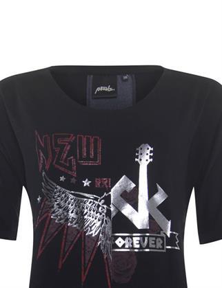 Poools t-shirts 133268 in het Zwart