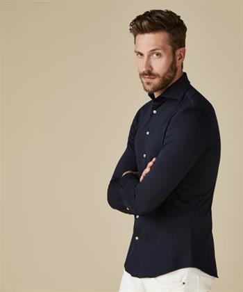 Profuomo business overhemd PP2HC10010 in het Marine