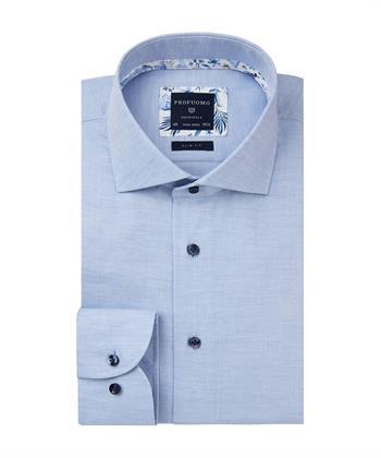 Profuomo business overhemd PPSH3A1010 in het Blauw