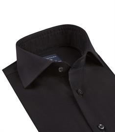 Profuomo business overhemd Slim Fit PP0H0A003 in het Zwart