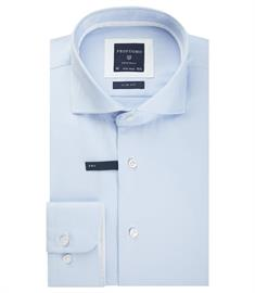 Profuomo business overhemd Slim Fit PP0H0A028 in het Licht Blauw