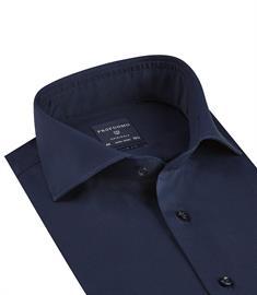 Profuomo business overhemd Slim Fit PP0H0A036 in het Marine