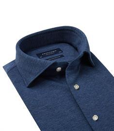 Profuomo business overhemd Slim Fit PP0H0A045 in het Marine