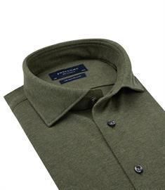 Profuomo business overhemd Slim Fit PP0H0A051 in het Groen