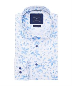Profuomo business overhemd Slim Fit PPRH1A1056 in het Blauw