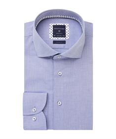 Profuomo business overhemd Slim Fit PPRH1A2002 in het Blauw