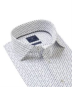 Profuomo business overhemd Slim Fit PPRH1A2003 in het Marine
