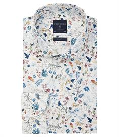Profuomo business overhemd Slim Fit PPRH3A1001 in het Multicolor
