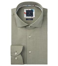 Profuomo business overhemd Slim Fit PPRH3A1005 in het Groen