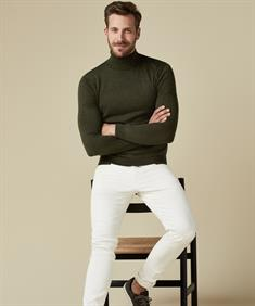 Profuomo coltrui Slim Fit PPQJ3A0036 in het Groen