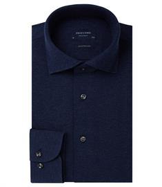 Profuomo overhemd Slim Fit PP0H0A048 in het Marine