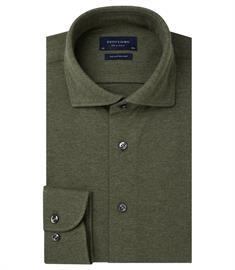 Profuomo overhemd Slim Fit PP0H0A051 in het Groen