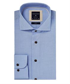 Profuomo overhemd Slim Fit ppph4a0004 in het Blauw