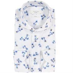 Profuomo overhemd Slim Fit ppqh1c1039 in het Aqua