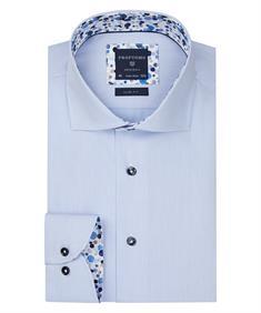 Profuomo overhemd Slim Fit ppqh3a1003 in het Blauw